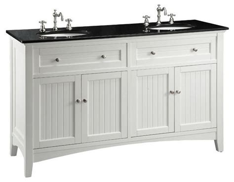 Cottage Style Bathroom Vanities 60 Quot Cottage Style Thomasville Bathroom Sink Vanity Transitional Bathroom Vanities And Sink