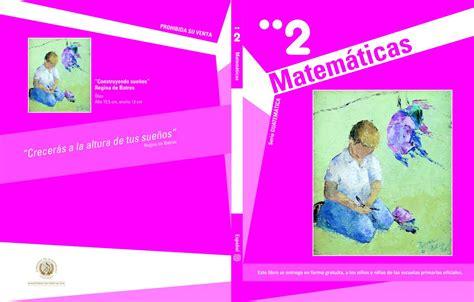 libro del maestro de matemticas 2 grado libros de matematicas segundo o segundo grado primaria