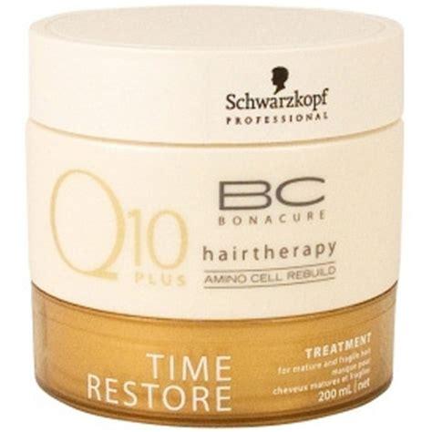 Q10 Bonacure Hair Therapy schwarzkopf bc bonacure time restore q10 treatment 200ml free shipping lookfantastic