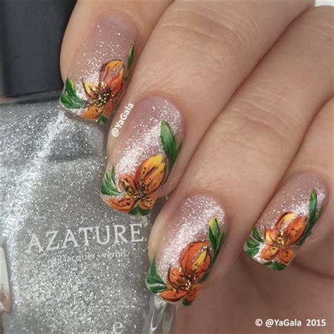 nail art design yagala tiger lily nail art gallery