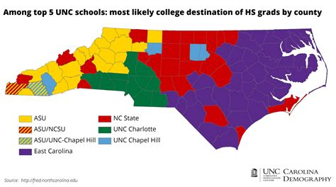 map of carolina colleges and universities nc college bound an update carolina demography