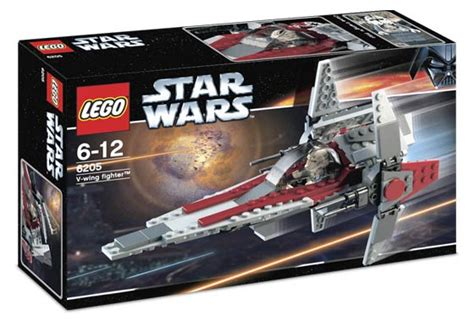 Lego Imperial Vwing Pilot Wars 6205 v wing fighter brickipedia fandom powered by wikia