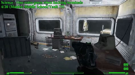 bobblehead vault 75 fallout 4 science bobblehead location