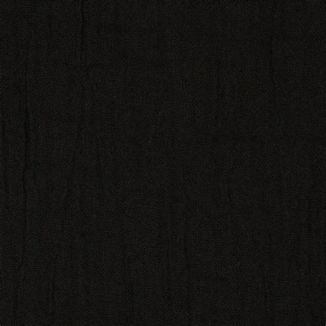 bubble gauze black discount designer fabric fabric com