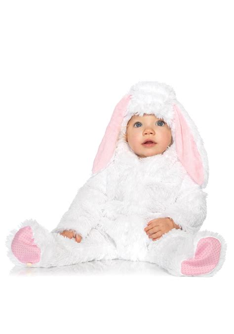 baby in bunny suit on swing baby bunny costume