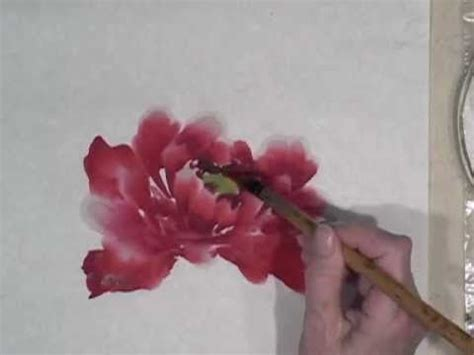 watercolor tutorial peony 166 best art oil painting lessons images on pinterest