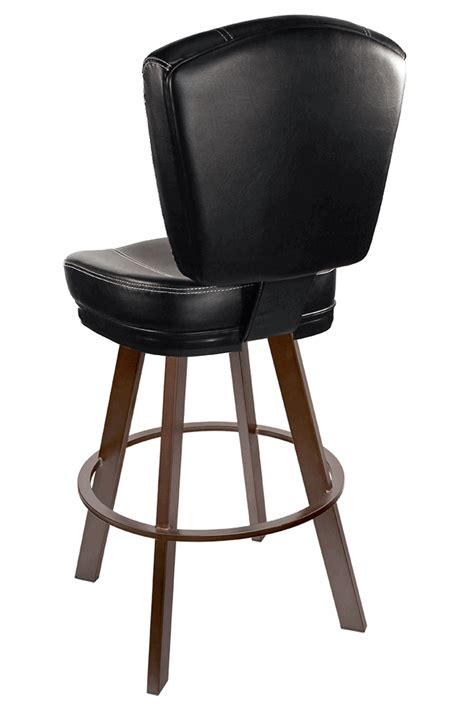 modern commercial bar stools gladiator commercial black modern bucket bar stool w