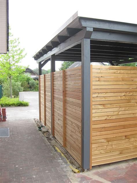 carport holzbau flachdach carport in oelde lette carport referenzen
