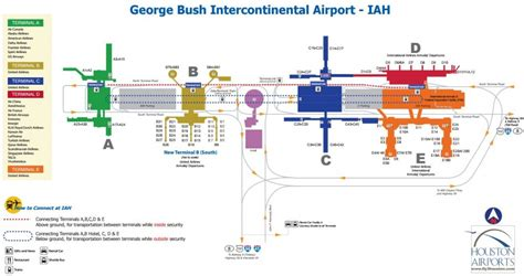 houston airport map southwest houston airport layout gallery