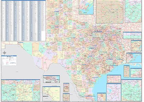 zipcode map texas texas zip code map map3