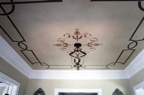 1000 images about stenciled and painted ceilings on