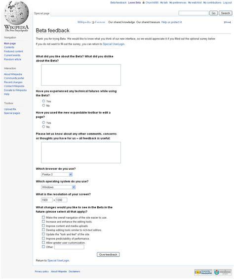 beta feedback survey feedback surveys wikimedia