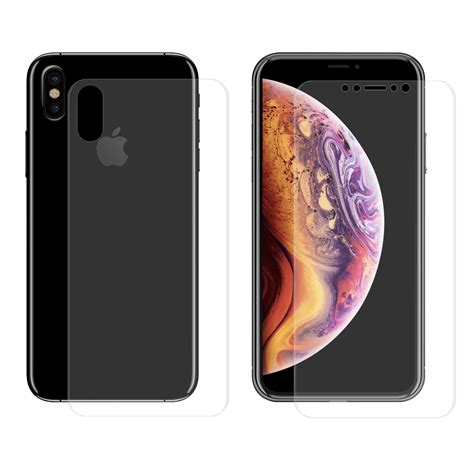 enkay front  rear screen protector  iphone xs max
