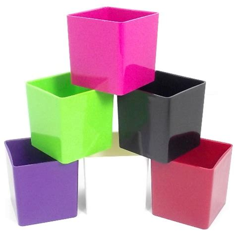 Plastic Square Vase by Add View Cart Checkout