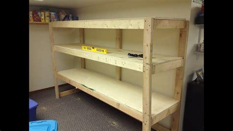 Wood Plans For Garage Shelves