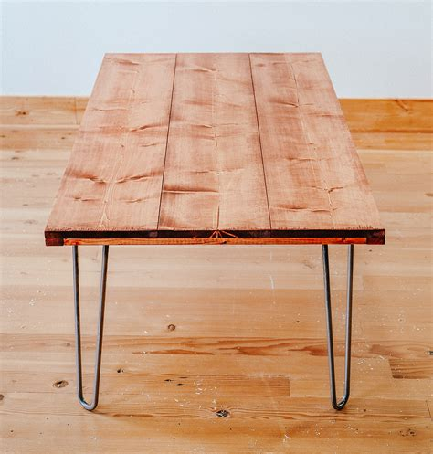 diy hairpin leg coffee table diy hairpin leg coffee table dunn diy