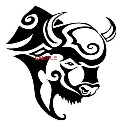 tribal buffalo tattoos 1000 ideas about cross on cross