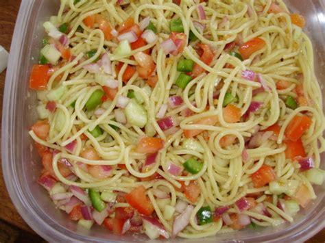 pasta salad with spaghetti noodles pasta salad recipe food com
