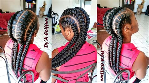 feed  stitch braids  dya youtube