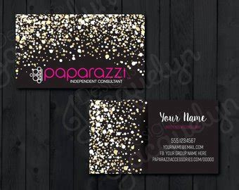 free paparazzi business card template paparazzi etsy