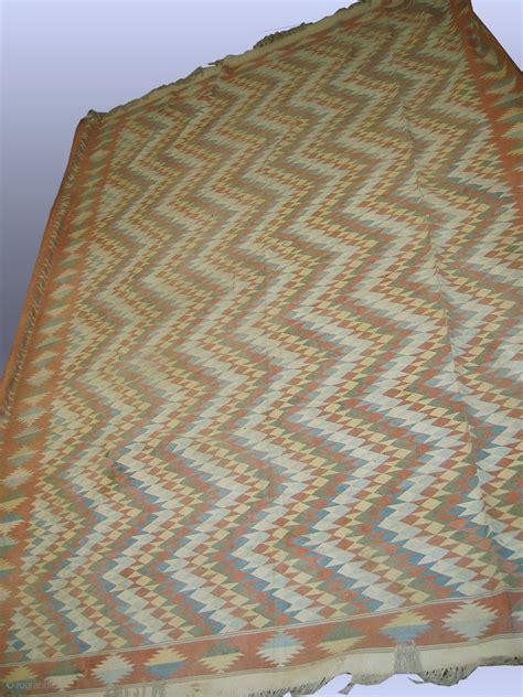 mazar e sharif rugs an outstanding antique dhurry dhurrie rug from uzbek