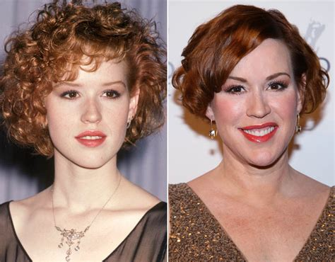 molly pack molly ringwald brat pack then and now pictures pics