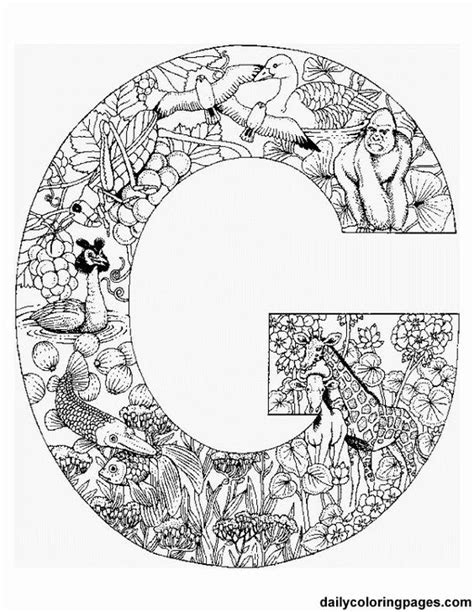 doodle pattern animals zentangle patterns letter g google search zen doodles