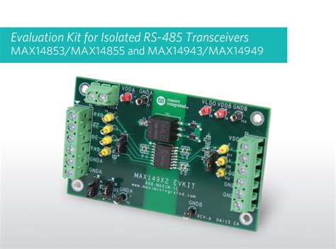 maxim integrated products reach statement isolated rs 485 transceivers for industrial automation