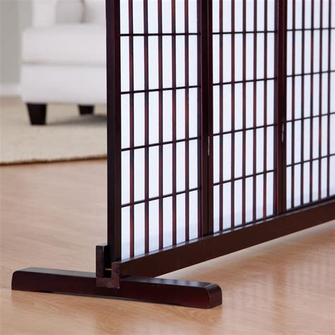 room separators shoji room divider stand room dividers at hayneedle