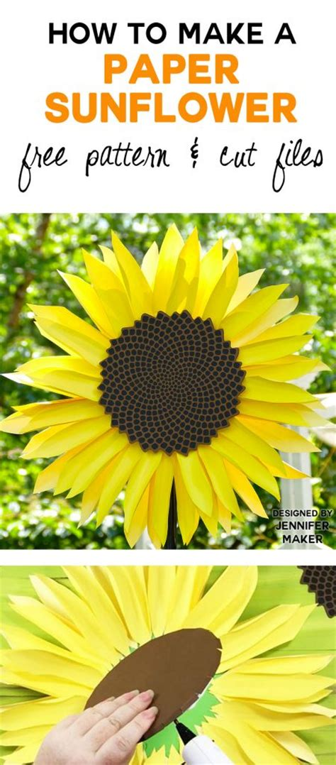 How To Make Sunflower From Paper - paper sunflower tutorial this will mesmerize you