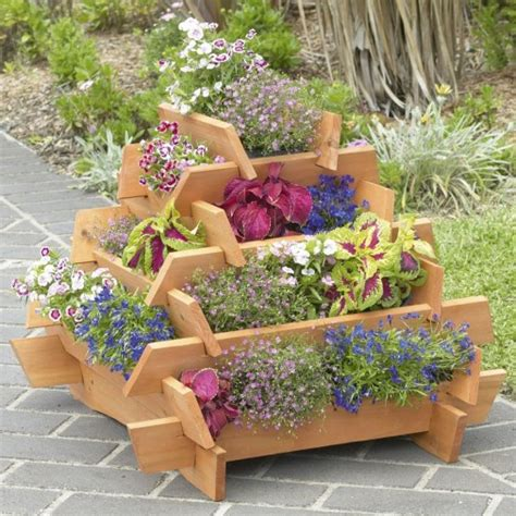 Wooden Garden Planters Ideas Diy Easy Wooden Planter Plans Wooden Pdf Wood Working Workshop Glossy16ecn