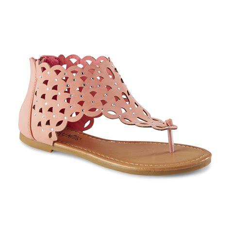 toddler gladiator sandal yoki toddler youth s karylle coral gladiator sandal