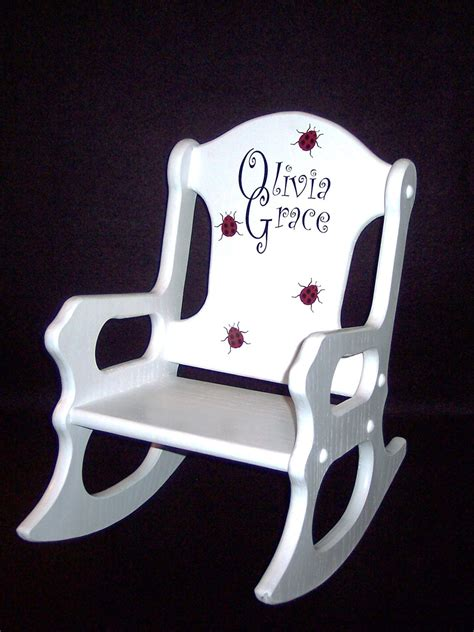 personalized toddler chairs cheap personalized toddler rocking chair ladybugs
