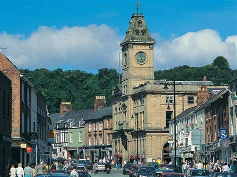 Houses Design by Quot Welshpool High Street On The Welshpool Travel Guide Quot