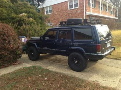 2001 Jeep Sport Lifted Buy Used 2001 Jeep Sport Lifted No Reserve In