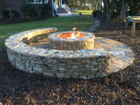 backyard gas pit classic half moon firepit with gas starter