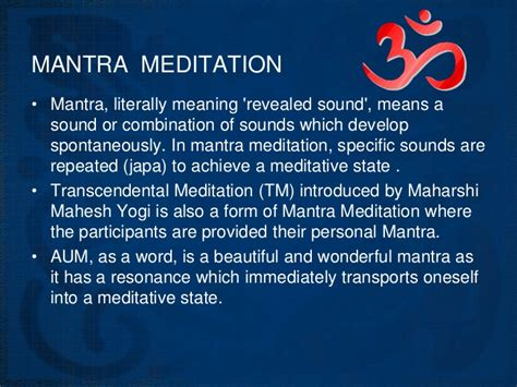 mantra meaning what is mantra meditation