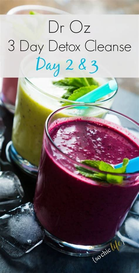 Dr Oz Raspberry Detox Smoothie by Dr Oz 3 Day Detox Cleanse Dr Oz 3 Day Detox And 3 Day