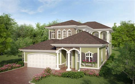 Narrow Lot French Country House Plans Idea Home And House Country House Plans Narrow Lot
