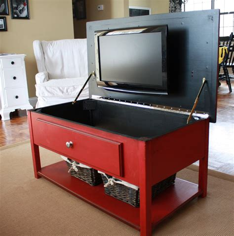 table for tv in bedroom it s just laine the amazing red coffee table