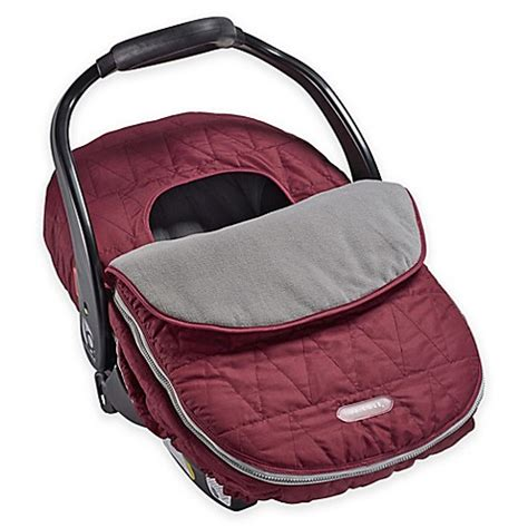 jj cole car seat cover safety jj cole 174 car seat cover in wine tri stitch buybuy baby