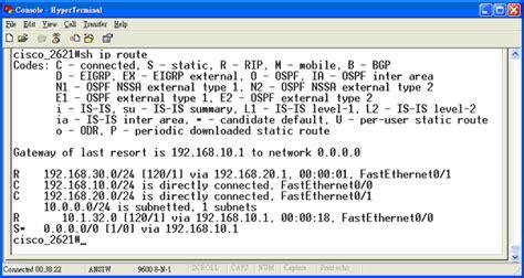 routing table cisco 利用linux的netfilter佈署中小企業網路環境 奇科