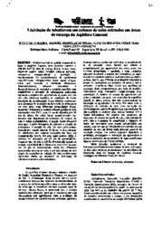 Artigo - Importância do solo para a água subterrânea