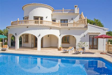 4 bedroom holiday villa rentals javea alicante costa