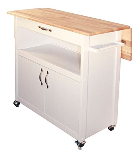 Small Kitchen Cart With Drop Leaf   WebNuggetz.com