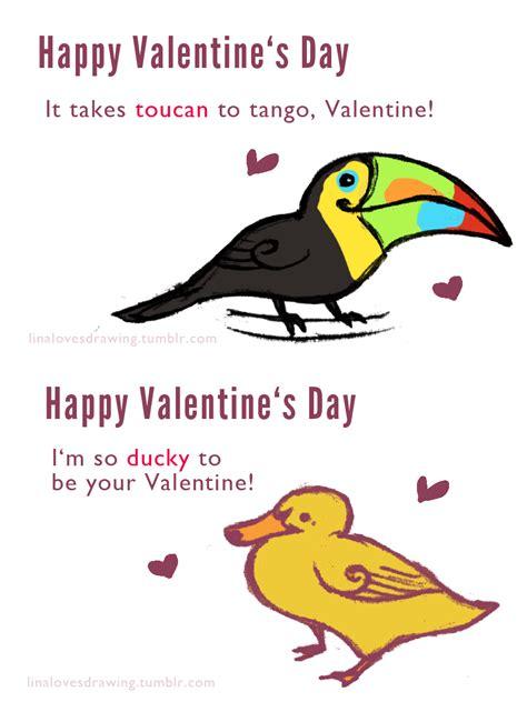 corny valentines day jokes inkpuppy linalovesdrawing took a things