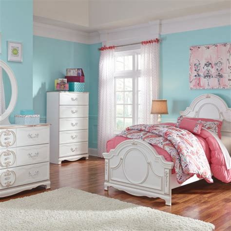 girls princess bedroom set girls twin princess bedroom collection 171 mattress bed outlet