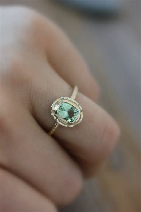 colored wedding rings 13 colorful engagement ring ideas weddingmix