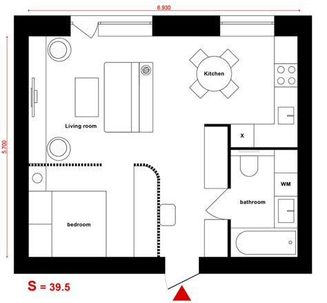progetto appartamento 50 mq come arredare una casa di 40 mq 5 progetti di design