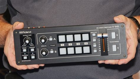 Roland V 1hd roland v 1hd switcher big things come in small packages